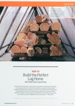 Build-the-Perfect-Log-Home---Builders-Quarterly---2012_01