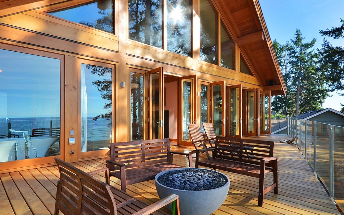 Davis Bay Timber Frame West Coast Log Homes