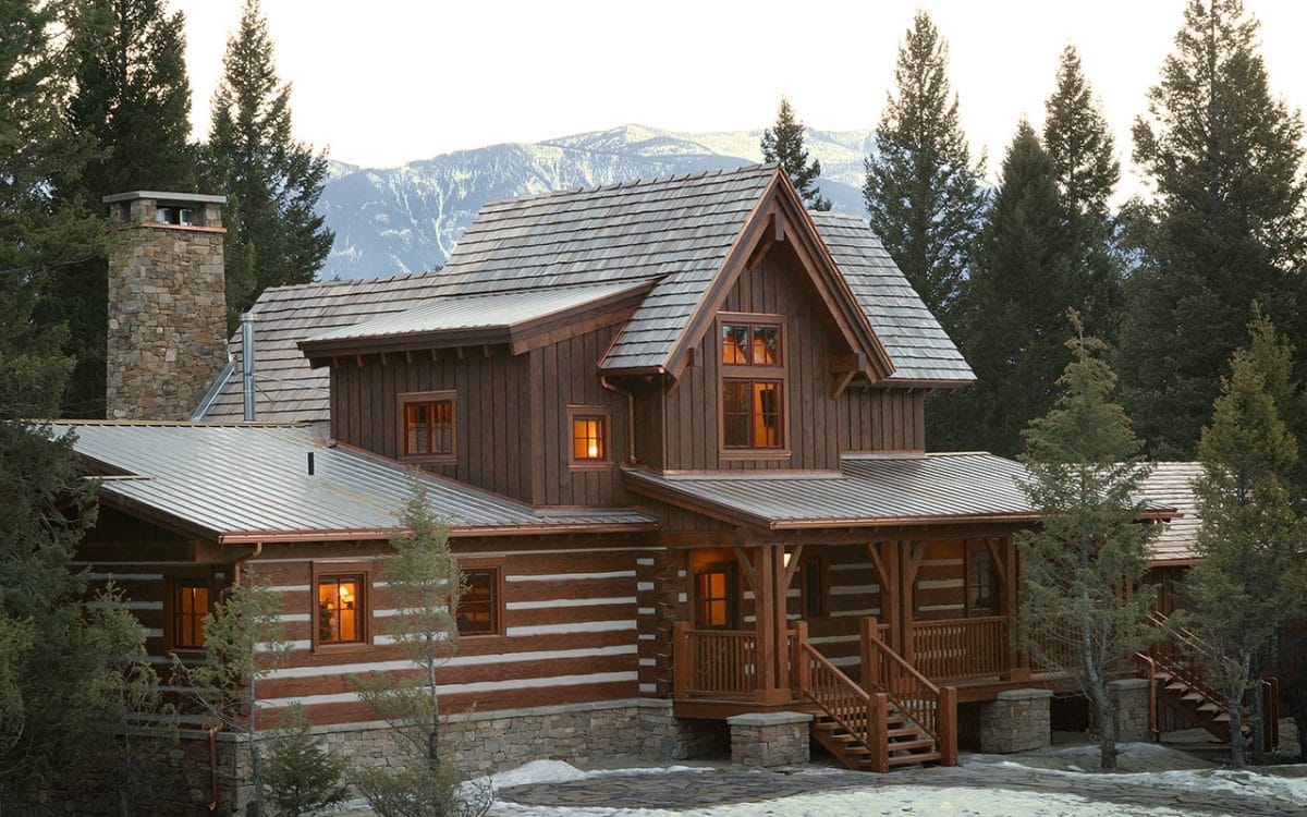 Eagle ranch cabins west coast log timber for Ranch log homes