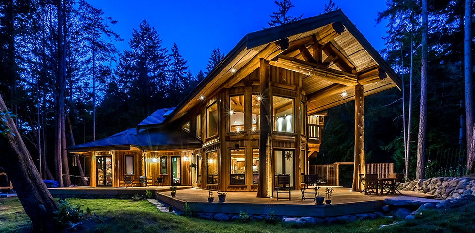 Astonishing West Coast Log Timber Custom Built Log Homes Gibsons Bc Download Free Architecture Designs Estepponolmadebymaigaardcom