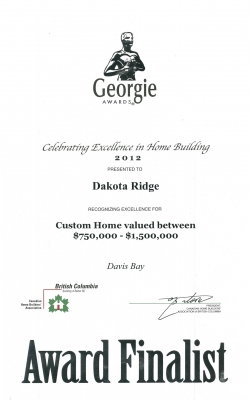 Georgie Custom Home 2012