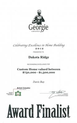 Georgie Custom Home 2012