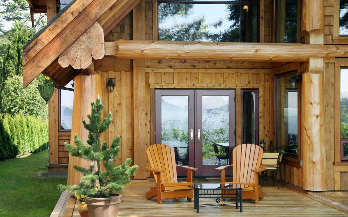 Gibsons Post And Beam West Coast Log Amp Timber