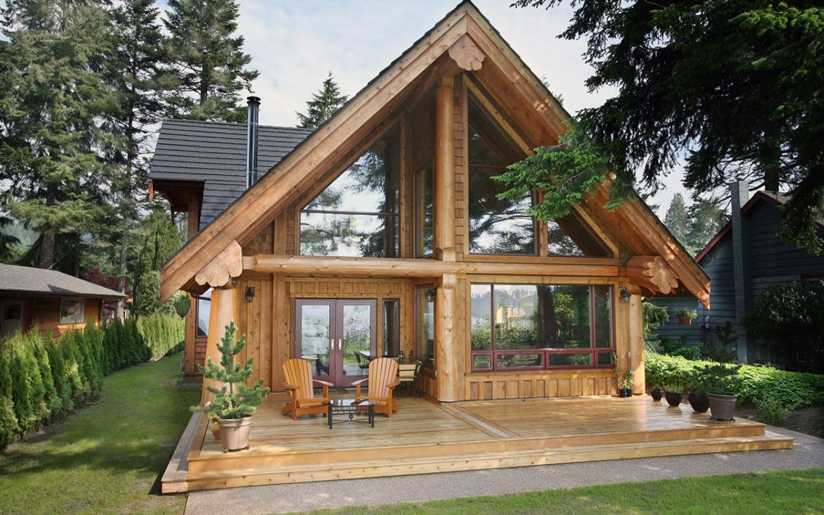 Gibsons Post And Beam West Coast Log Homes