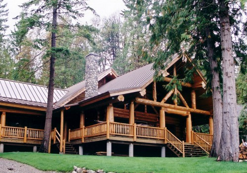Kamloops Full Scribe Log Home
