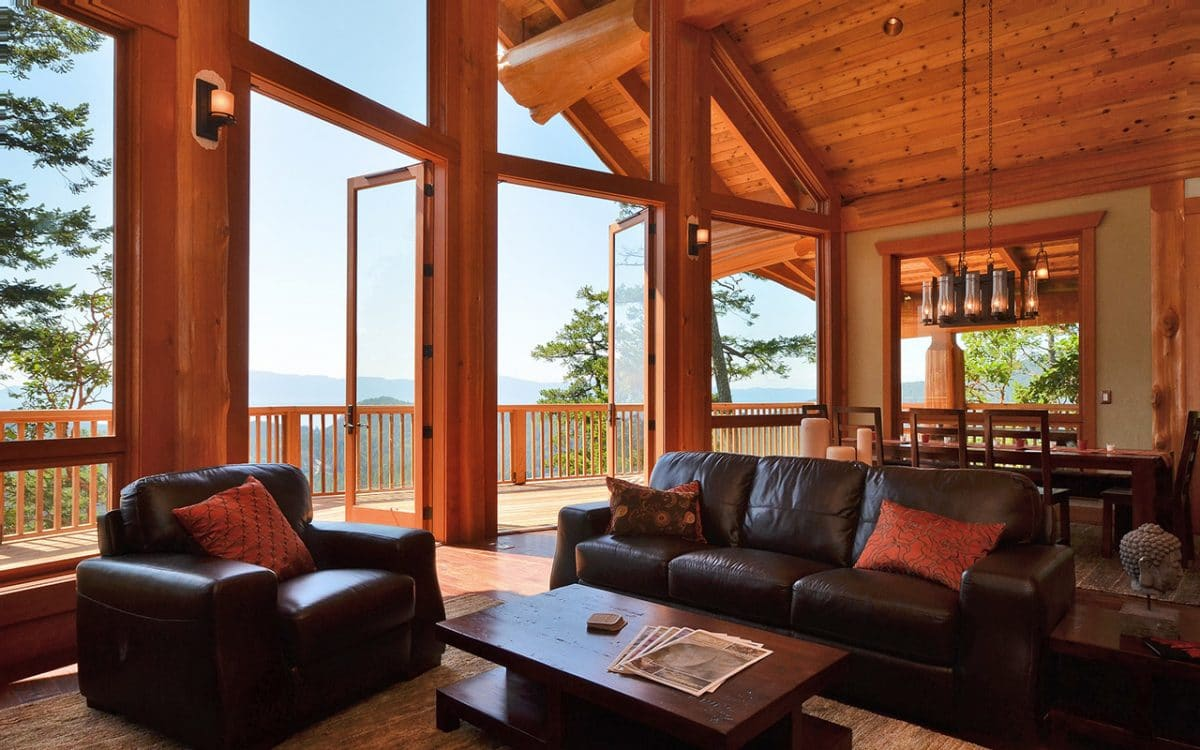 Post And Beam West Coast Log Homes