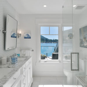 Ensuite Bathroom At Pender Harbour Jewel