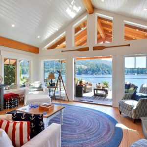 Family Room At Pender Harbour Jewel