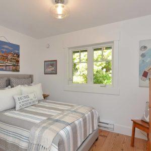 Guest Suite Bedroom At Pender Harbour Jewel