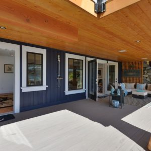 Exterior Guest Suite Deck At Pender Harbour Jewel