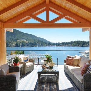 Heart Of The Home Main Deck Ocean View At Pender Harbour Jewel