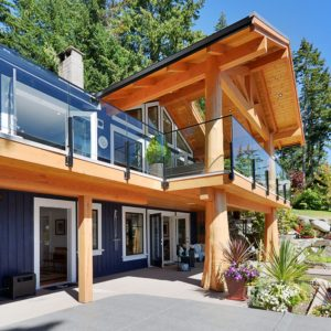 Waterfront Exterior At Pender Harbour Jewel
