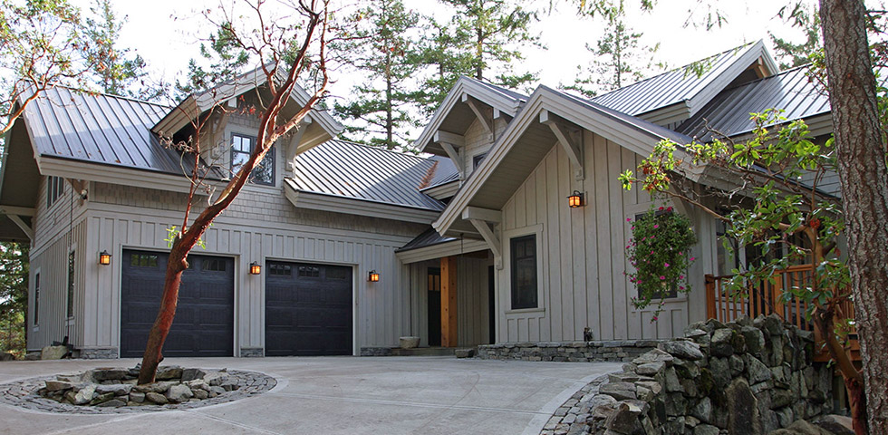 beautiful Pender Island fusion home