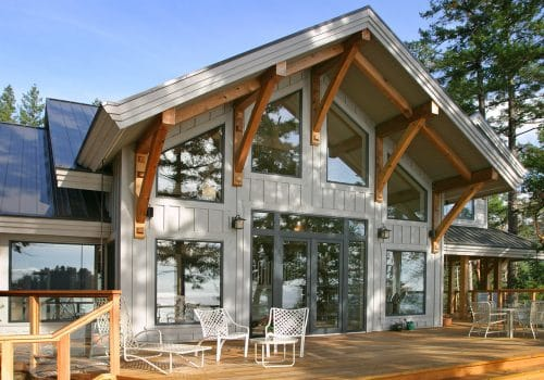 Pender Harbour Timber Frame
