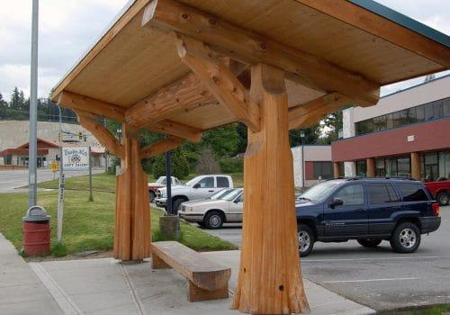 Sechelt Bus Stop