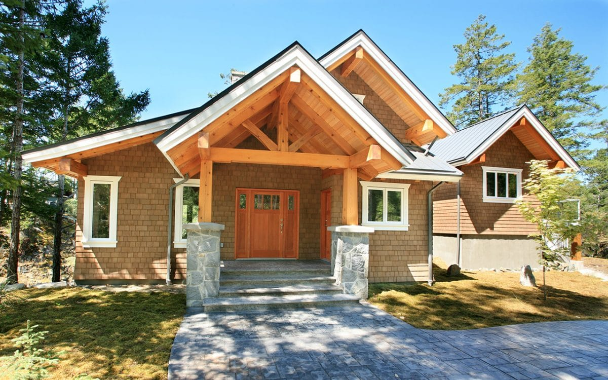 Timber Frame West Coast Log Homes