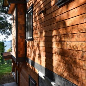 Exterior Wall Siding - Selma Park Post Beam Residence