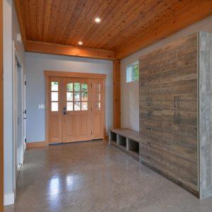 Entry Way And Custom Pantry - Selma Park Post Beam Residence
