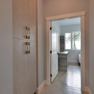 Interior - Bedroom Hallway - Selma Park Post Beam Residence