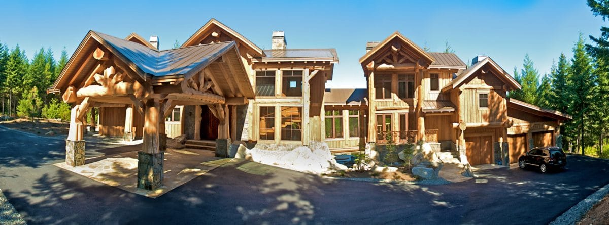 Suncadia Post And Beam West Coast Log Homes