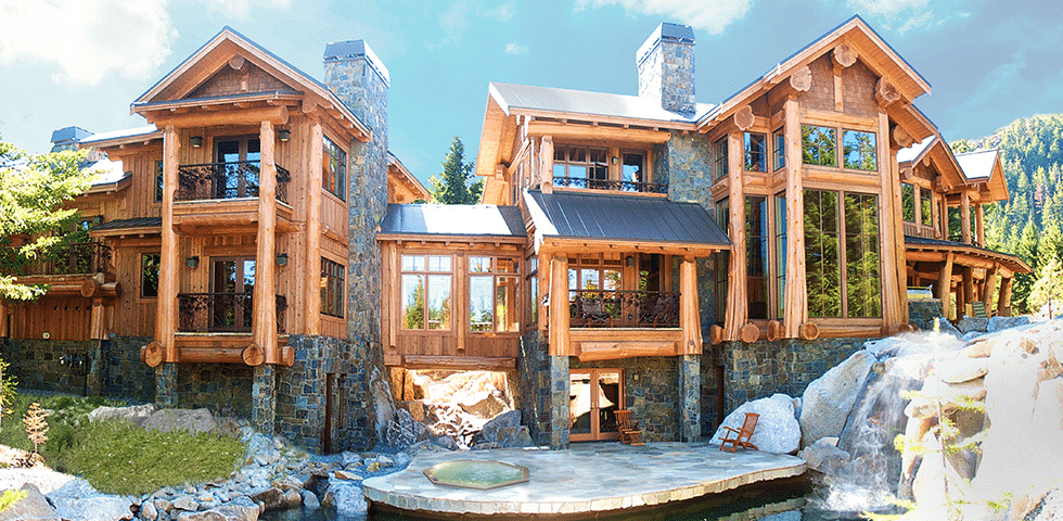 West Coast Log Homes Custom Built Log And Timber Homes